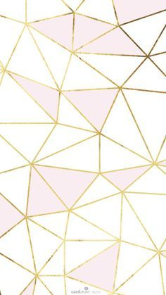 Cute Pink Cell Phone Wallpaper Pink Gold White Geometric Mosaic So Much Fun Ban Do