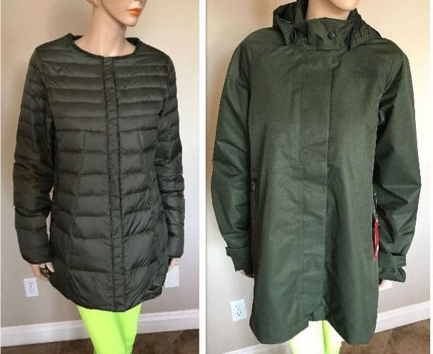 7d4553b84 NEW 2016 The North Face MOSSWOOD TRICLIMATE PARKA size M $349 SAMPLE ...