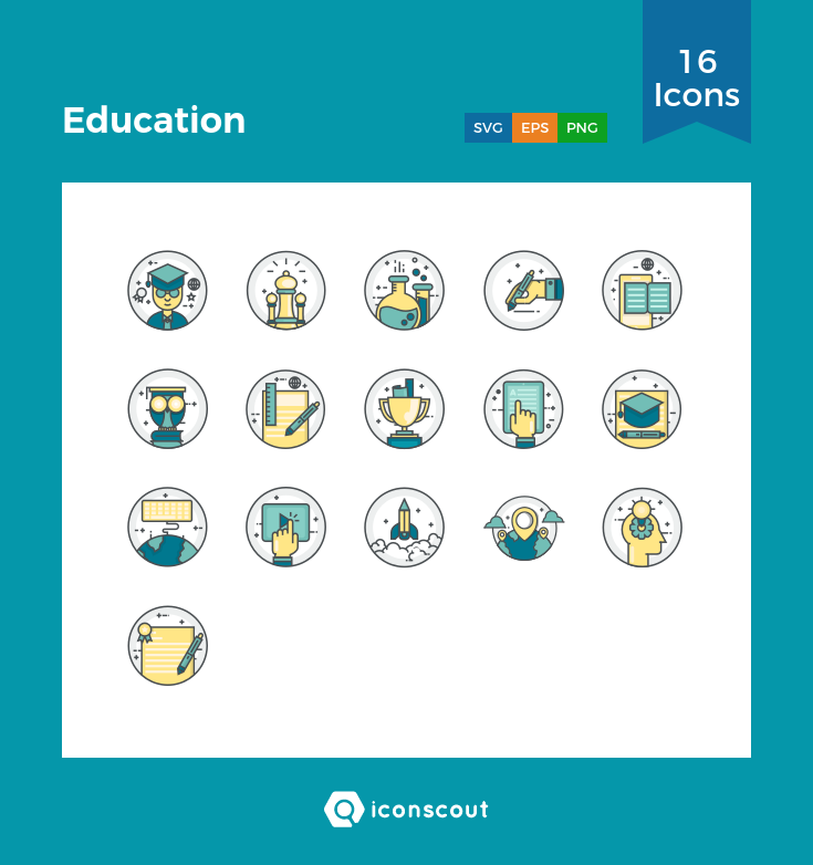 Download Education Icon Pack Available In Svg Png Eps Ai Icon Fonts Education Icon Education Icon Pack