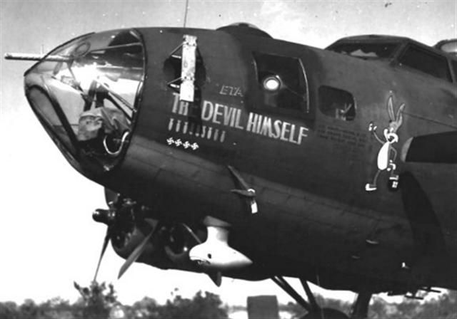 "B17- ""The Devil Himself """