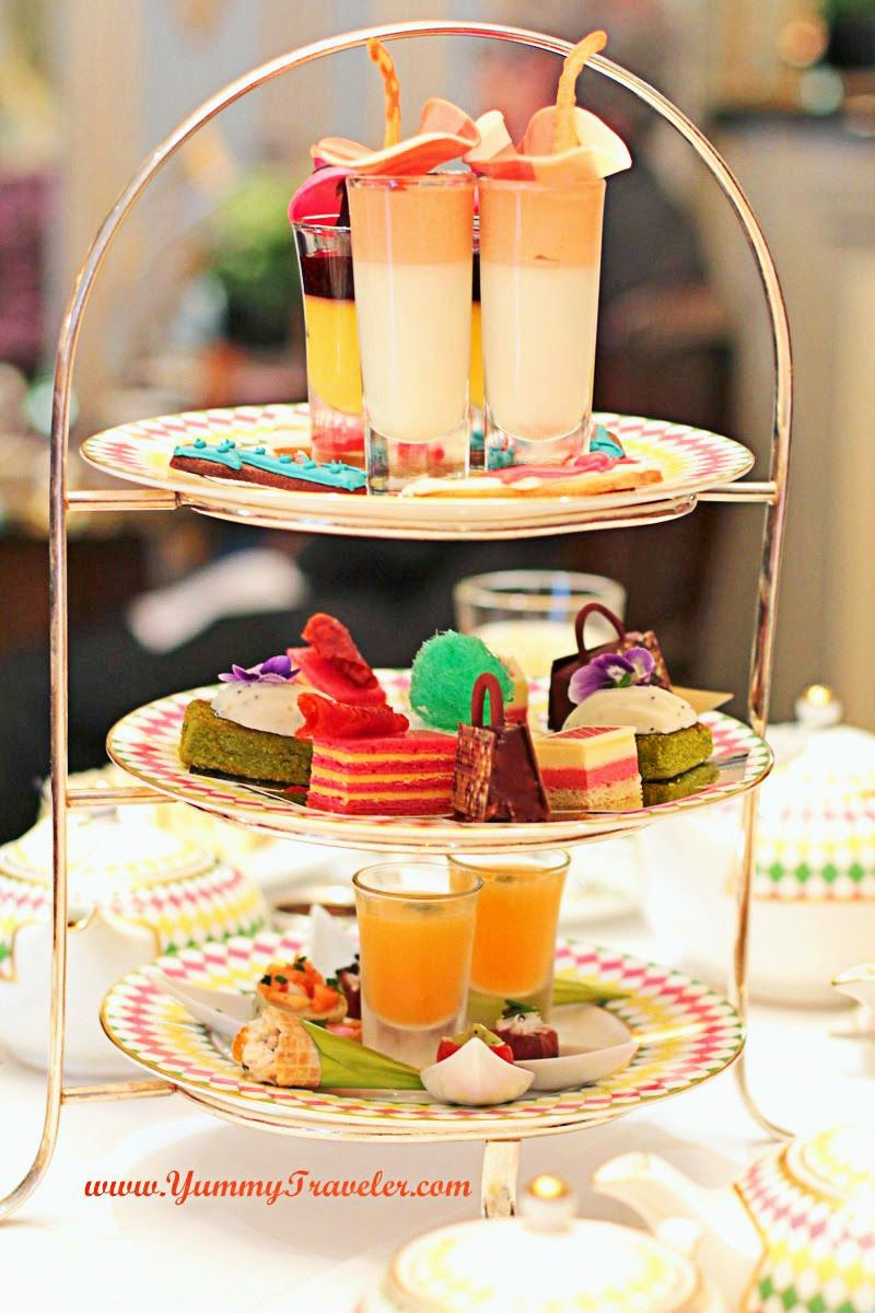 London : Afternoon Tea at Prêt-à-Portea - The Berkeley Hotel ~ Review by YummyTraveler.com