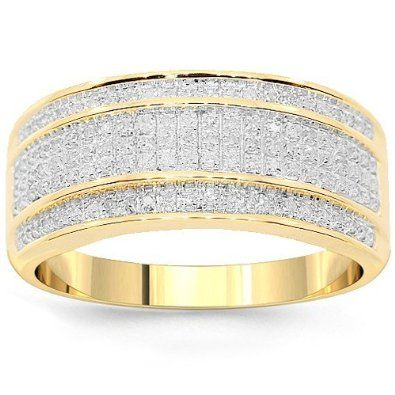 yellow diamond wedding rings for men zebmhzjw - Gold Wedding Rings For Men