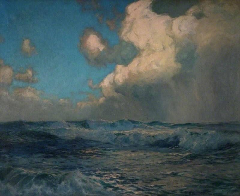 Albert Julius Olsson (1864–1942), The White Squall
