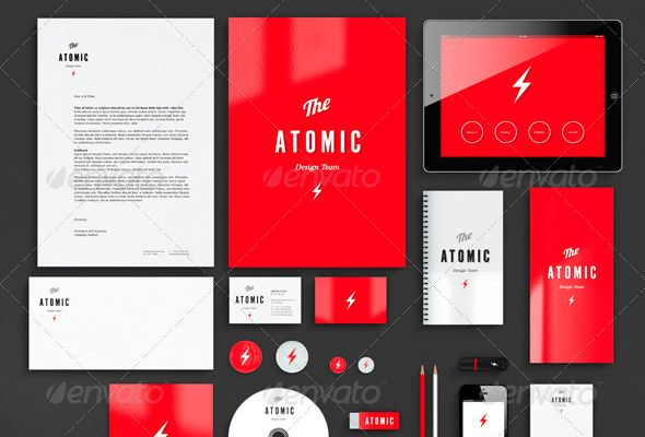 Corporate Identity Mock-up Template | [D] All About Design ...