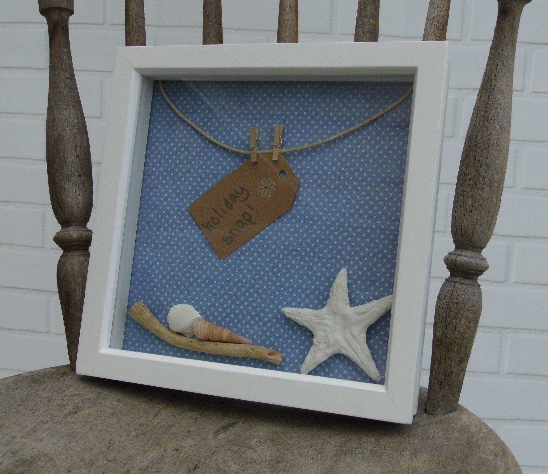 Seaside Themed Photo Frame For That Special Memory