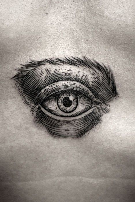 Permanent Markings 13 Tattoo Artists With Bold Black Style Eye