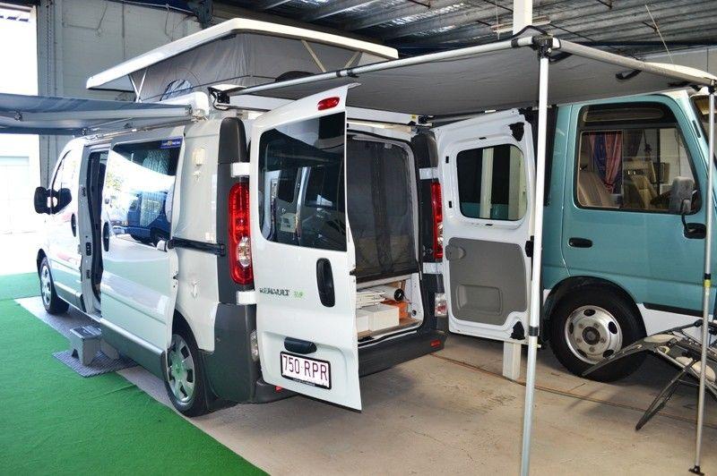 Renault Traffic Campervan Vans Van Camping Motorhome Conversions Camper Van