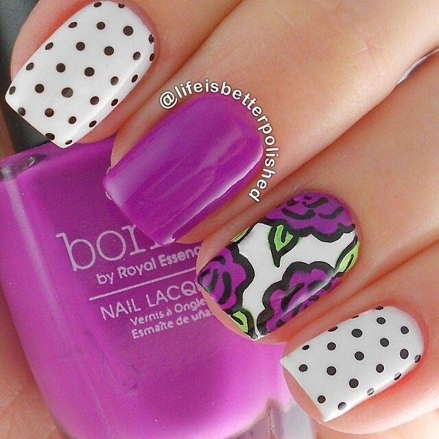 I want to try this | uñas sencillas | Pinterest | Descubre más ideas ...