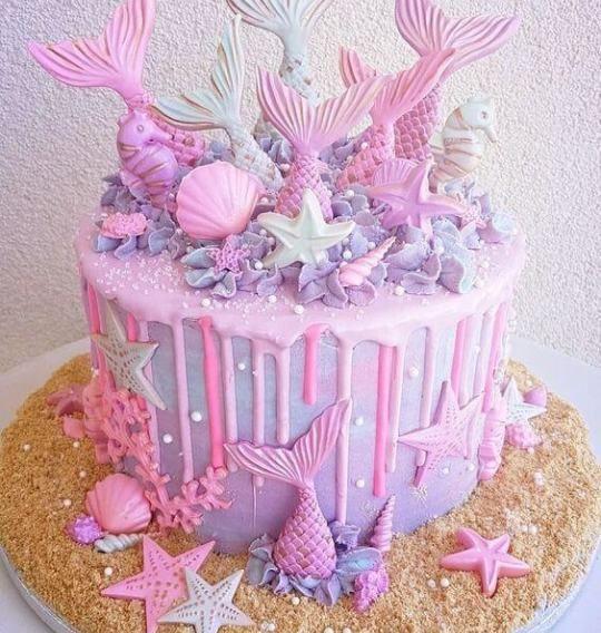 DIY Taufe Meerjungfrau Schwanz Fondant Kuchen Dekorieren Tools – Kitchen24x7   – Mermaid birthday cakes