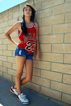 Basketball Jersey With Shorts Outfit Google Search Chicago Bulls Outfit Basketball Clothes Basketball Jersey Outfit