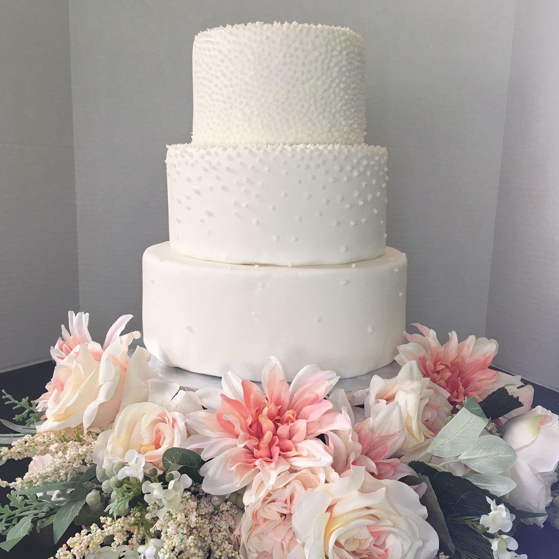 Stella wedding cake llbake wedding weddingcake allwhite