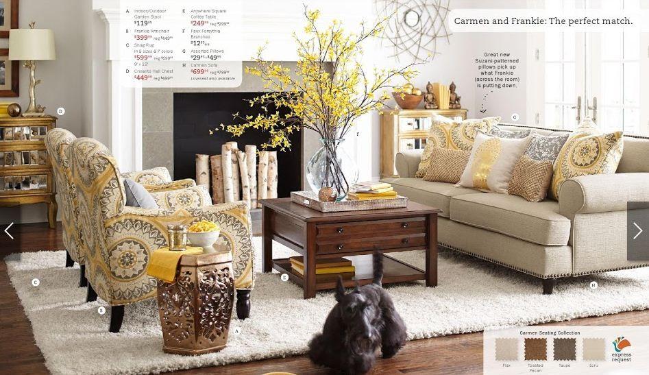 surprising pier imports living room | Dream living room! Pier 1 | New Home | Pinterest