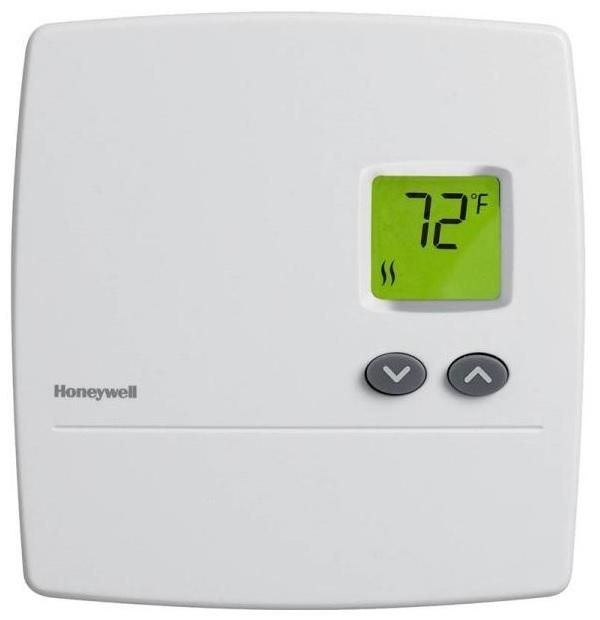 Honeywell Rlv3150a1004 E Digital Non Programmable Line Volt Thermostat Electric Baseboard Heaters Baseboard Heating Baseboard Heater Thermostat
