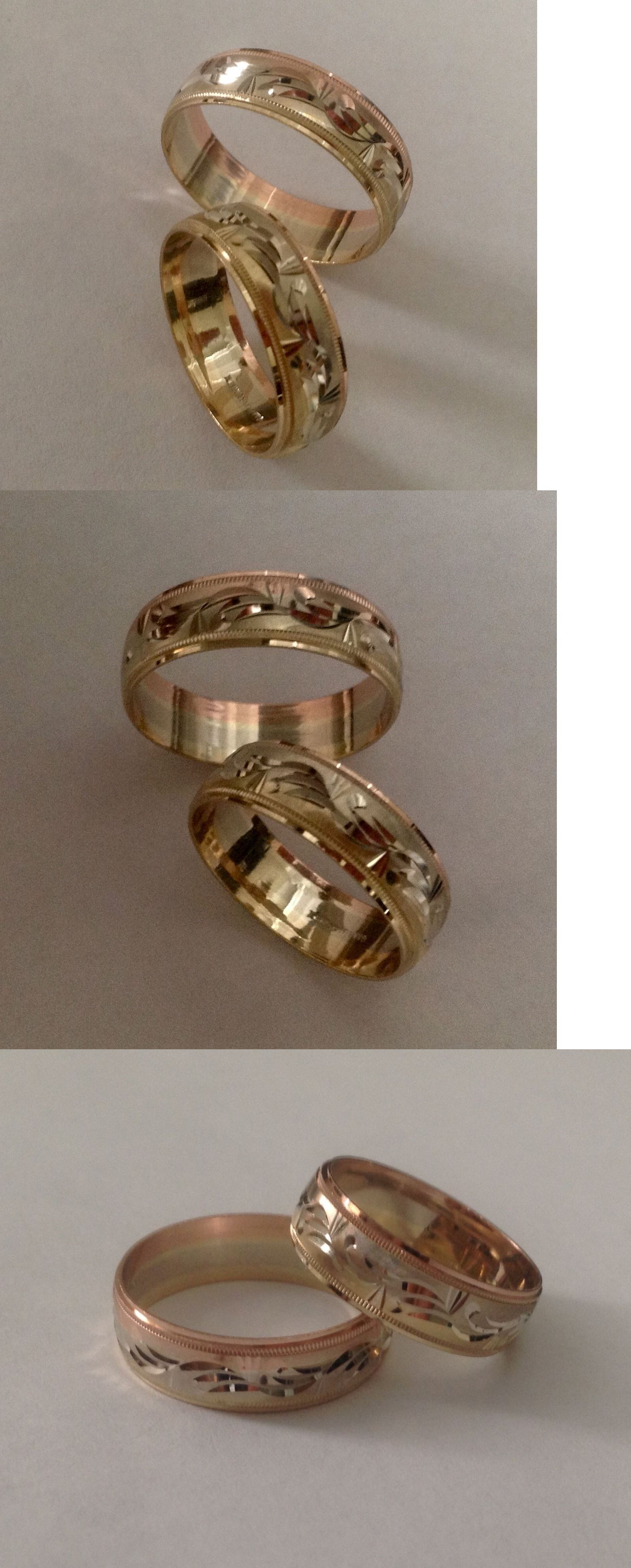 bands with motif gold boomer ring black style diamond tri main and colored rings hills yellow in