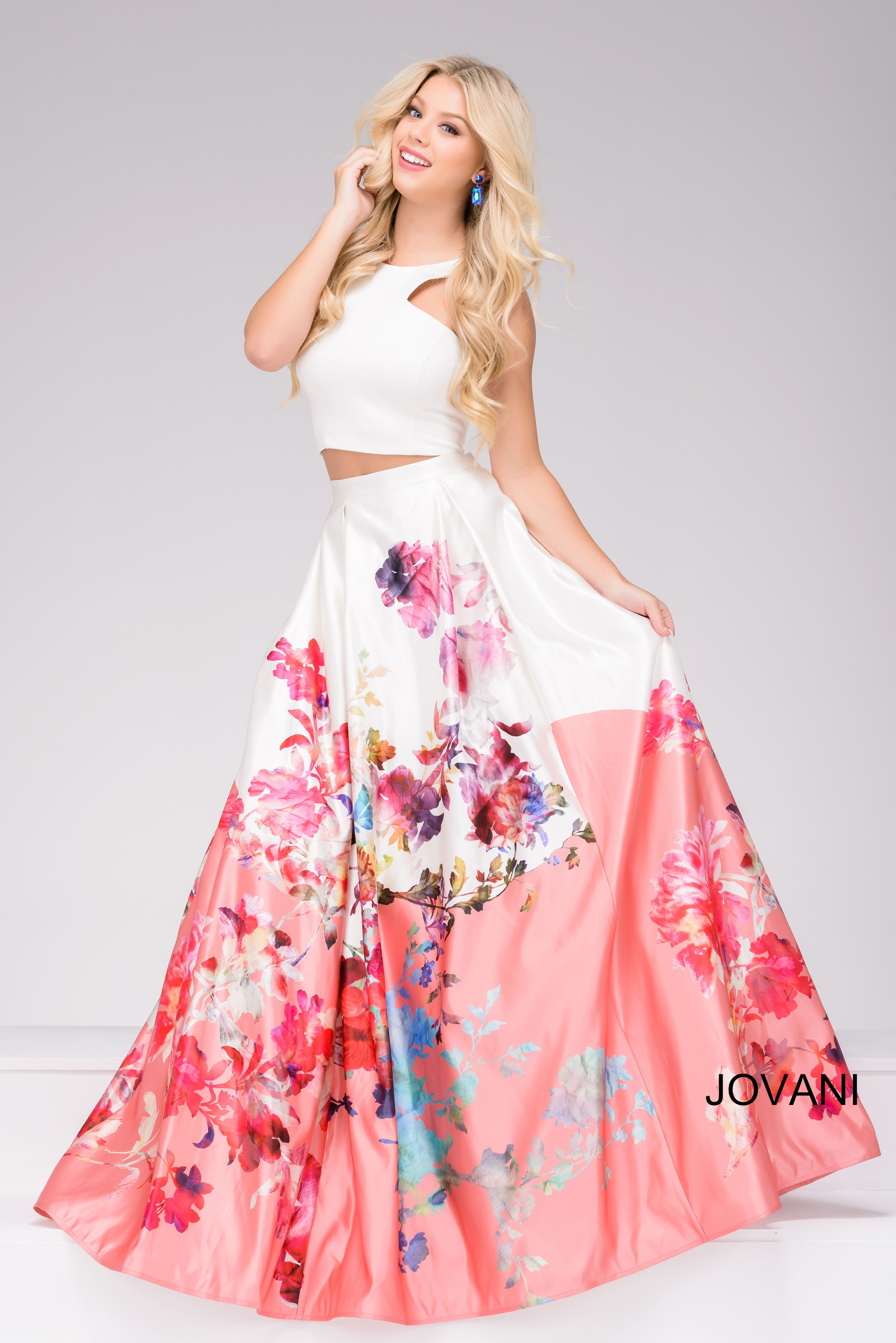 Pretty in pastels Jovani style 47672 available at WhatchamaCallit ...