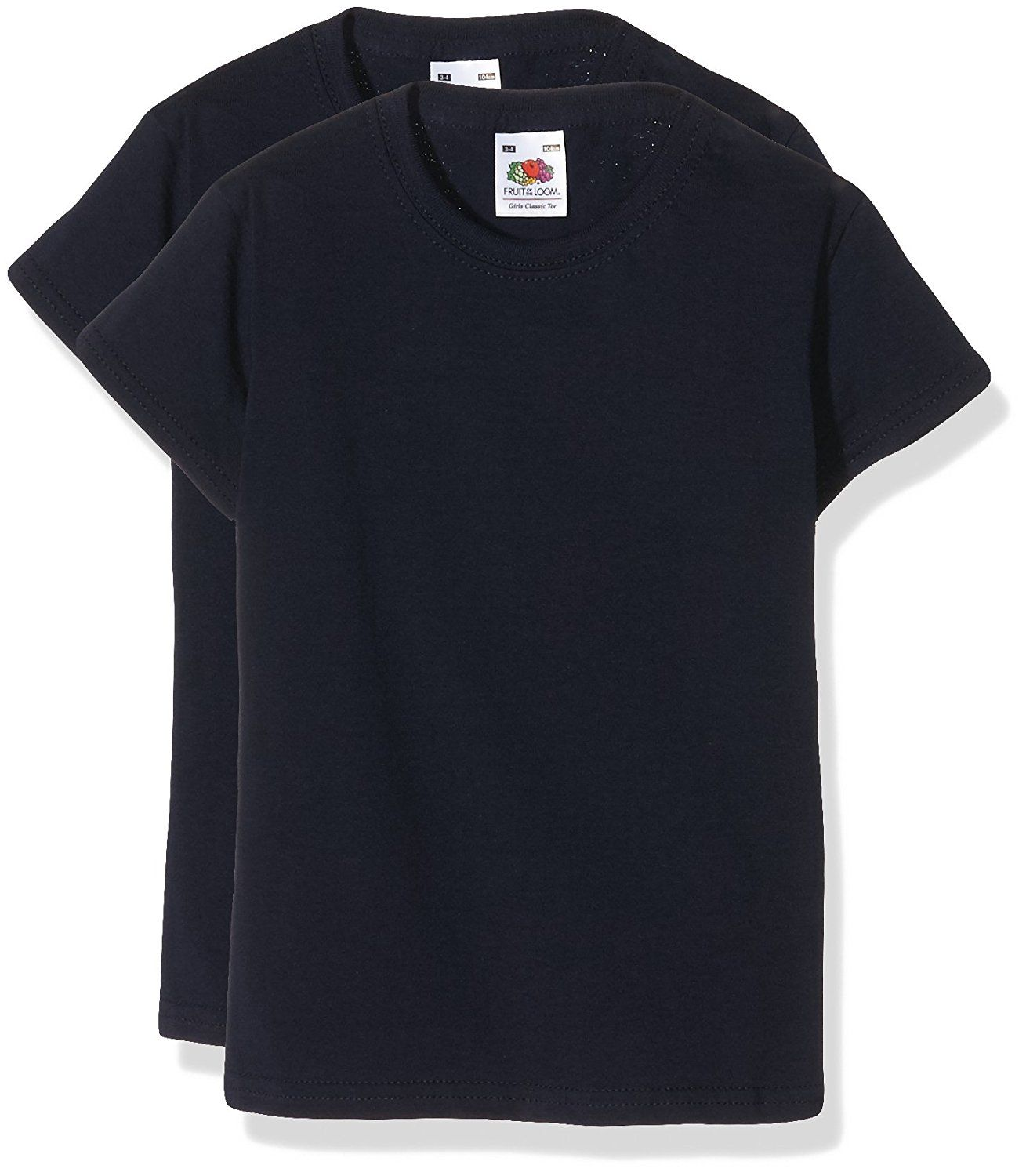 Fruit of the Loom Bugle Tee Shirt BLue with black, very