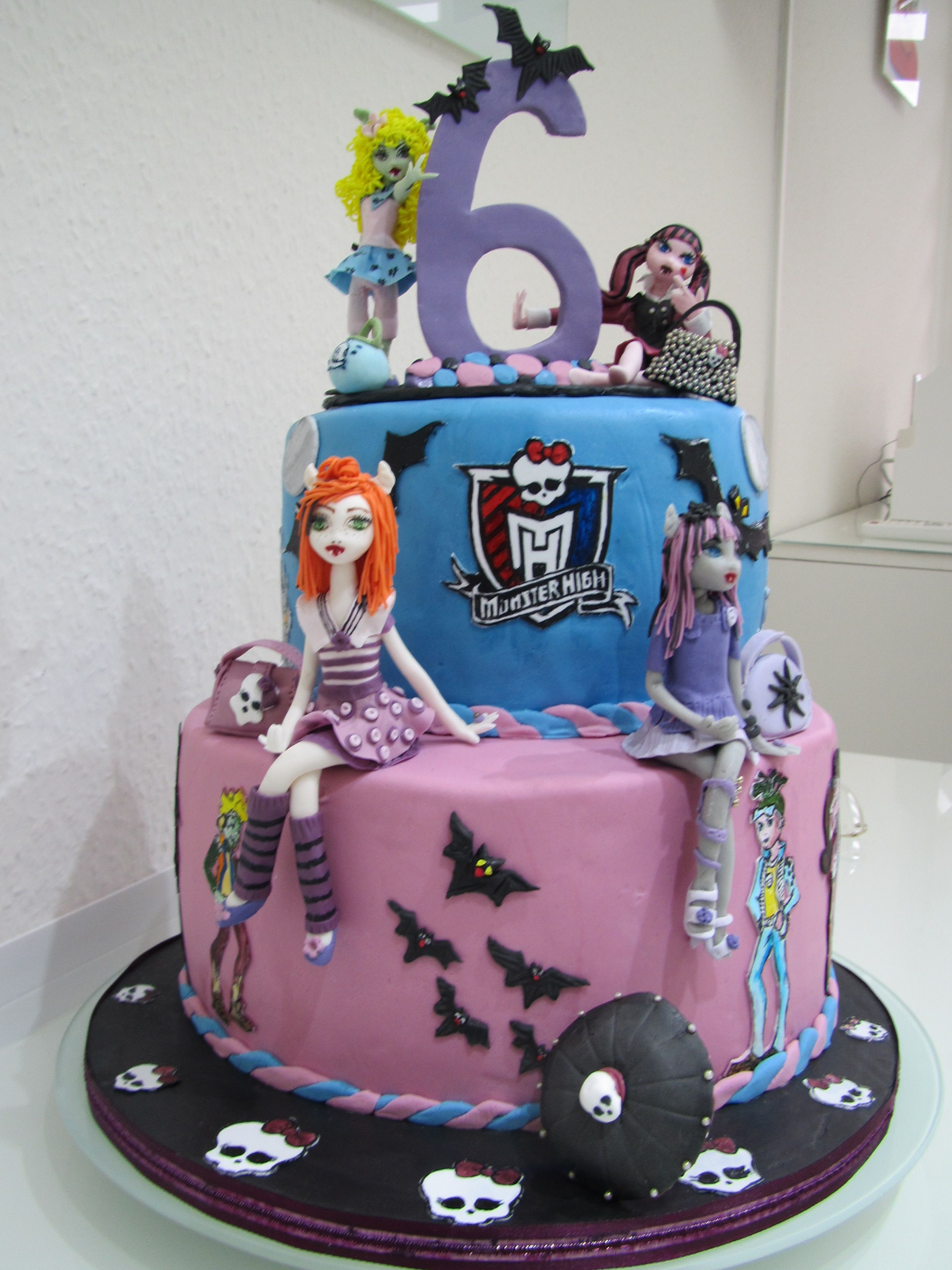 Monster High Kuchen Backen Deutsch Appetitlich Foto Blog