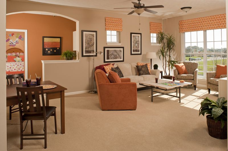 Warm inviting living dining room combo pinterest for Warm inviting living room ideas