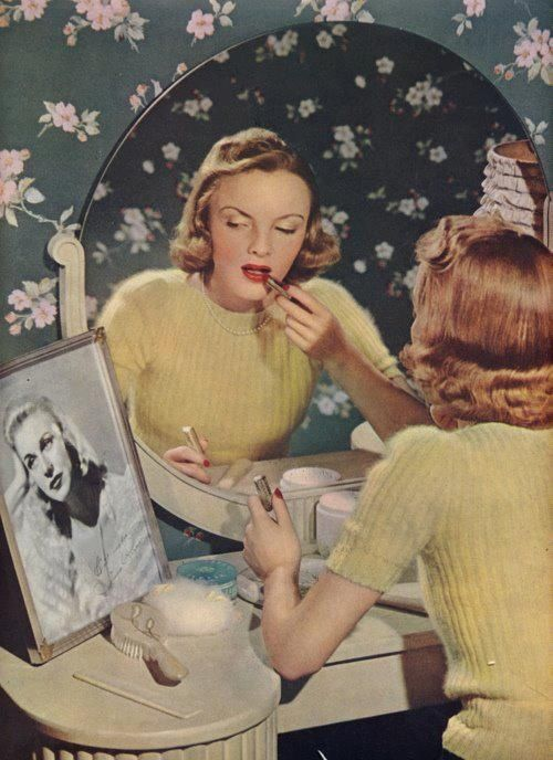 The History of 1940s Makeup - 1940 to 1949 | Glamour Daze