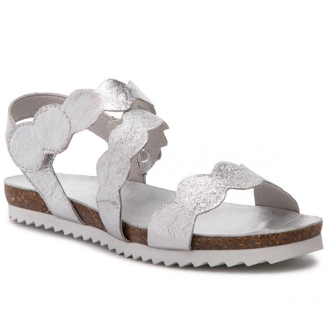 Sandaly Marco Tozzi 2 28403 22 Silver 941 Sandaly Codzienne Sandaly Klapki I Sandaly Damskie Eobuwie Pl In 2020 Silver Shoes Sandals