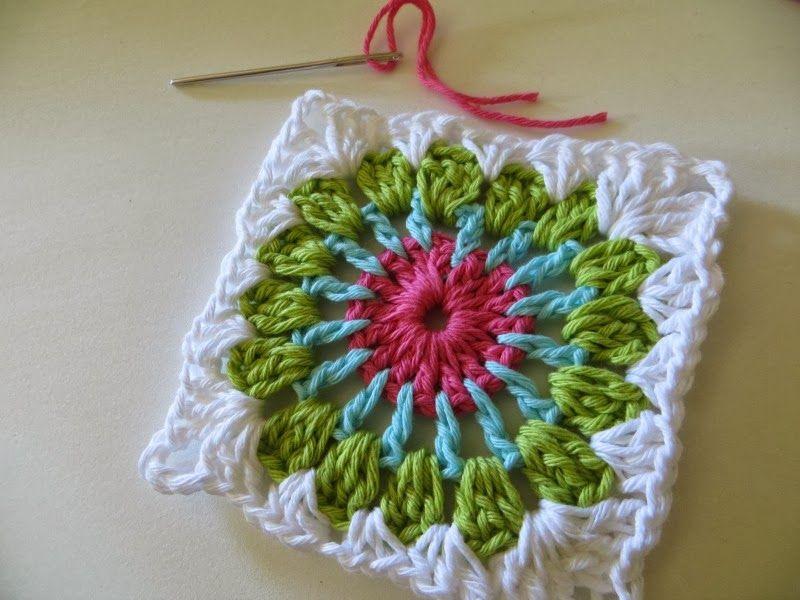 Blog de tejido crochet y dos agujas.. Mantas almohadones y mucho mas ...