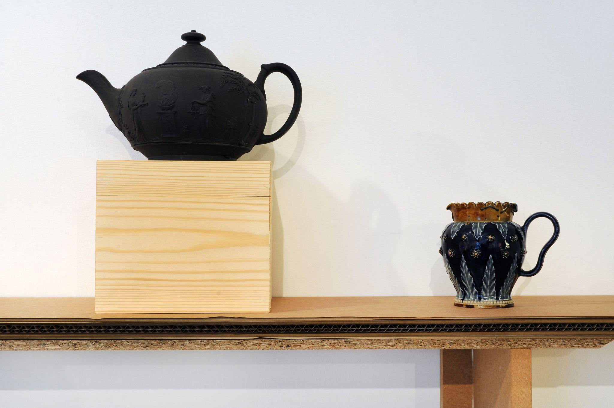 Basalt Teapot 1840, Doulton Jug 1890. \'Politics of Craft: After Ford ...