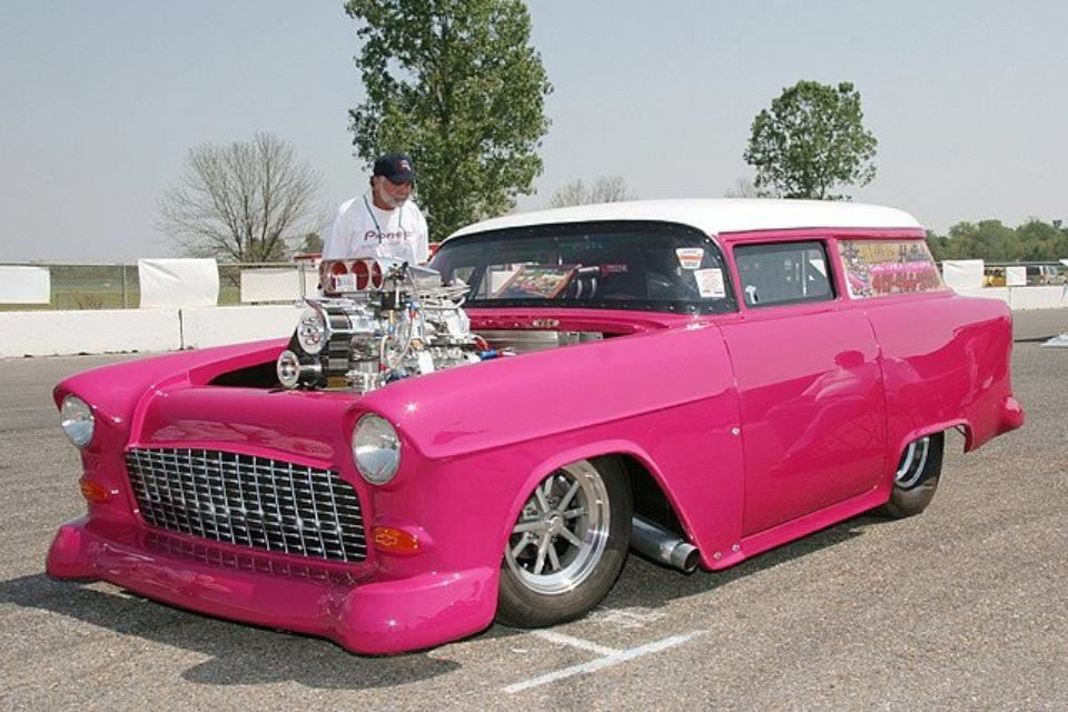 Chevy Shortened Sedan Delivery Pink Cars Pink Trucks Pink