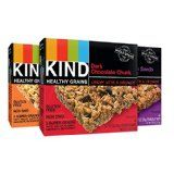 KIND Healthy Grains Granola Bars, Variety Pack, 5 Count (Pack of 3) @ healthnwellness4you.com