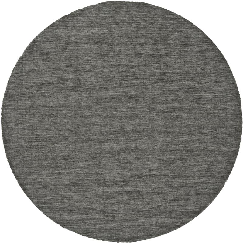 Delacora Fz Frms Frn Rd 10x10 Ferron 10 X 10 Wool Hand Loomed Solid Round Area Graphite Home Decor Rugs Area Rugs In 2020 Wool Area Rugs Area Rugs Rugs