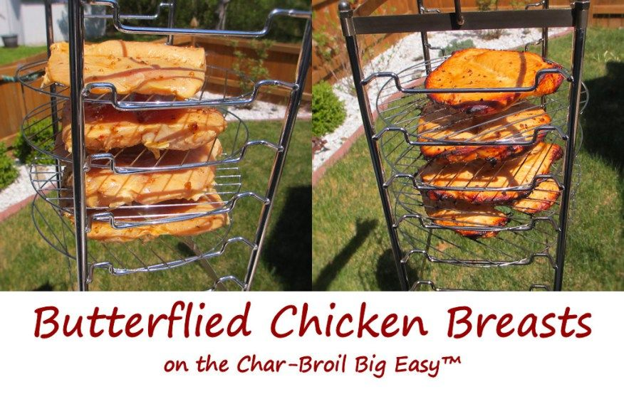 4919c6b7cf5 The new cooking rack available from Char-Broil lets me cook on 6 levels  versus just two with the standard Big Easy basket and bunk bed basket.