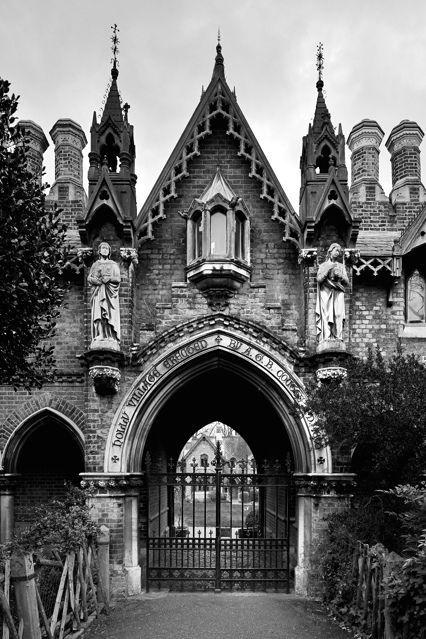 Gothic gate - #gate #Gothic #gothichome