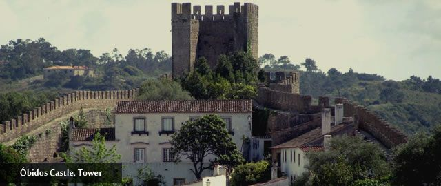 Tower of the #Medieval #Castle of #Óbidos