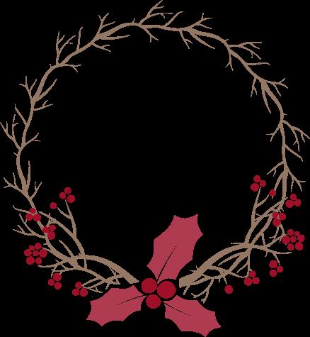 Christmas Wreath Vector Material Christmas Wreaths Christmas Vector