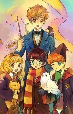 A Princess His Prince And Dragon Harry Potter Drawings Harry Potter Artwork Harry Potter Anime