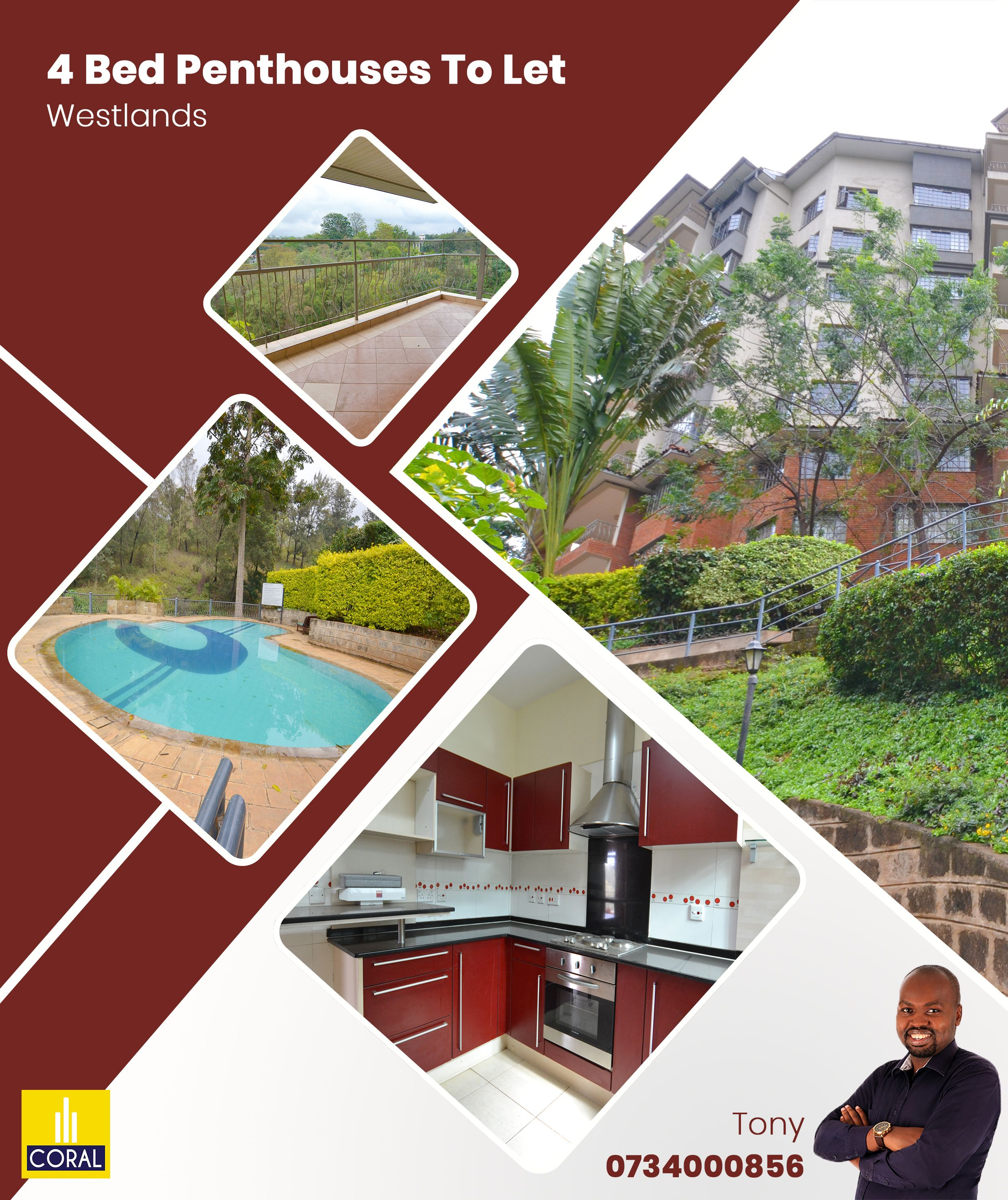 1 Bedroom Apartment Chelsea New York: 4 Bedroom Penthouses To Let In Westlands