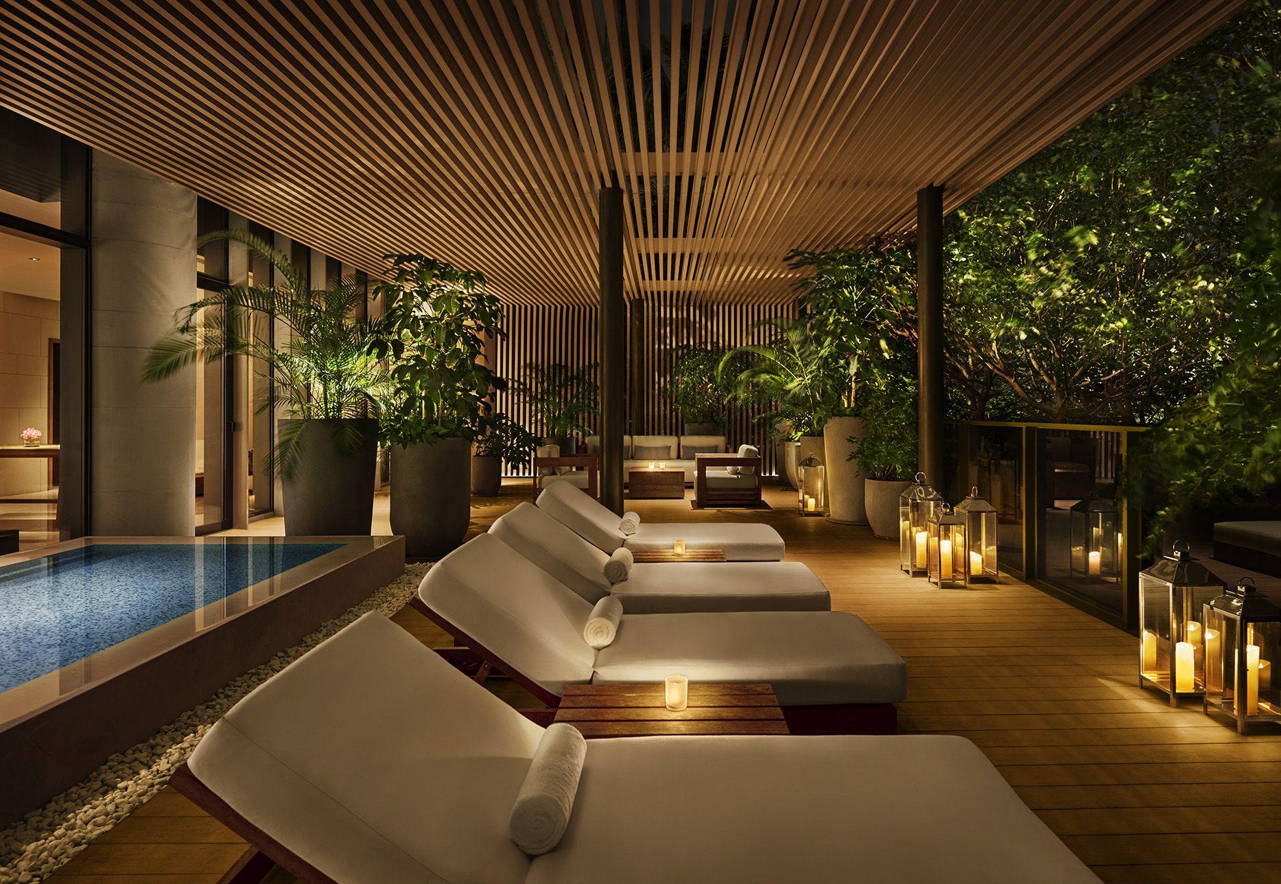 The Sanya Edition Spa Lounge Spa Decor Spa Rooms