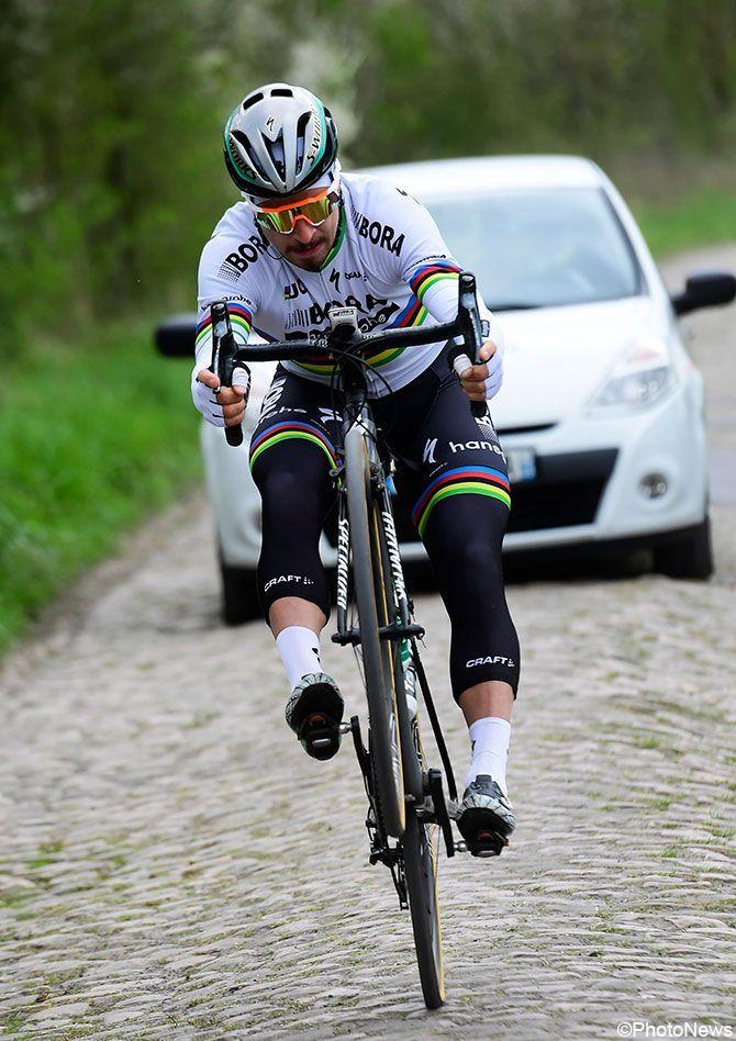 Peter Sagan recon Parijs-Roubaix 2017