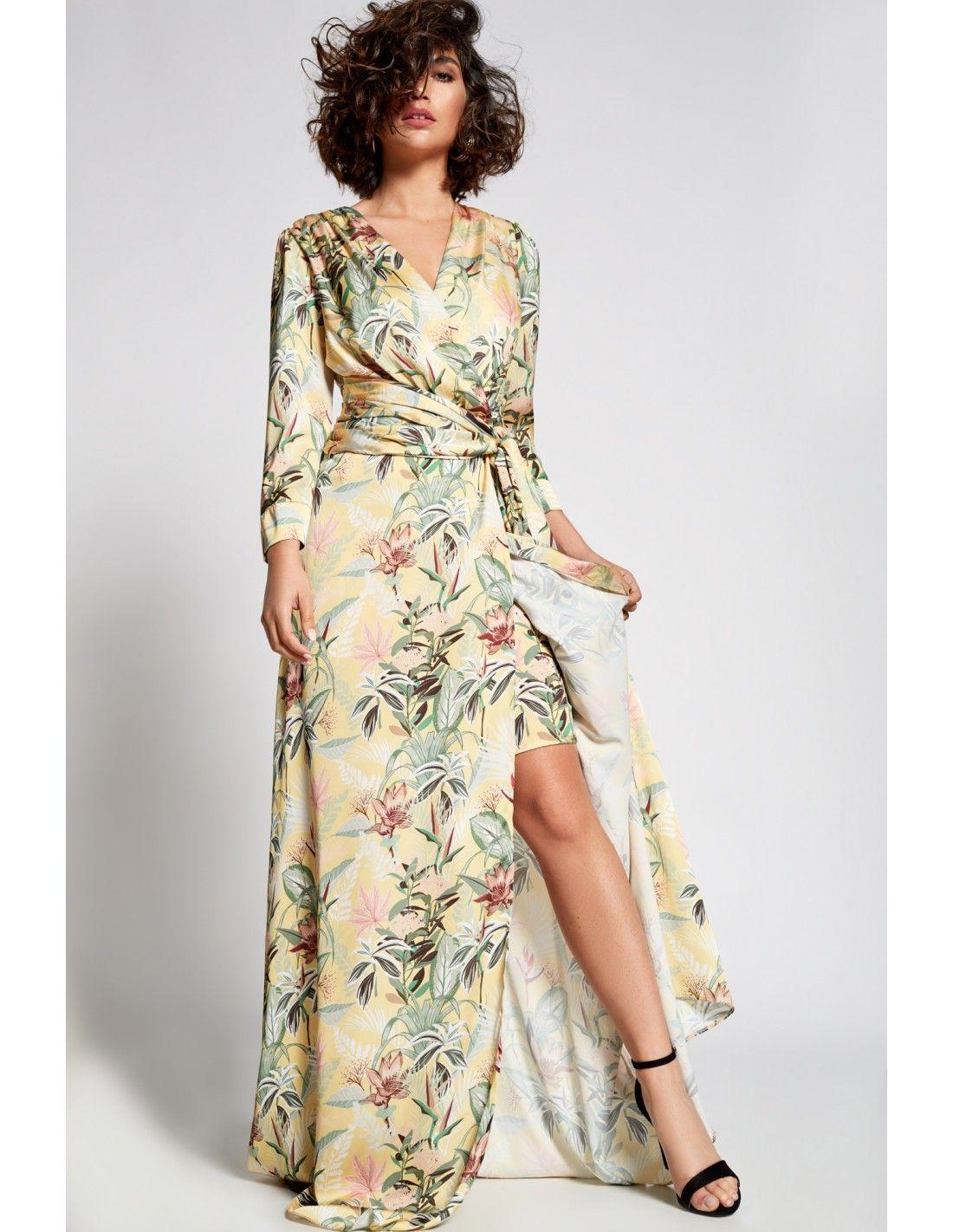 45d338c1ce8 Vestido Ena en 2019 | MODA FIESTA | Vestidos largos, Vestidos y ...
