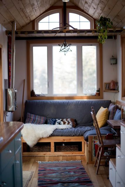 The Honey House: A Stunning 240 Sq Ft Tiny House Made From Reclaimed And  Eco Friendly Materials!