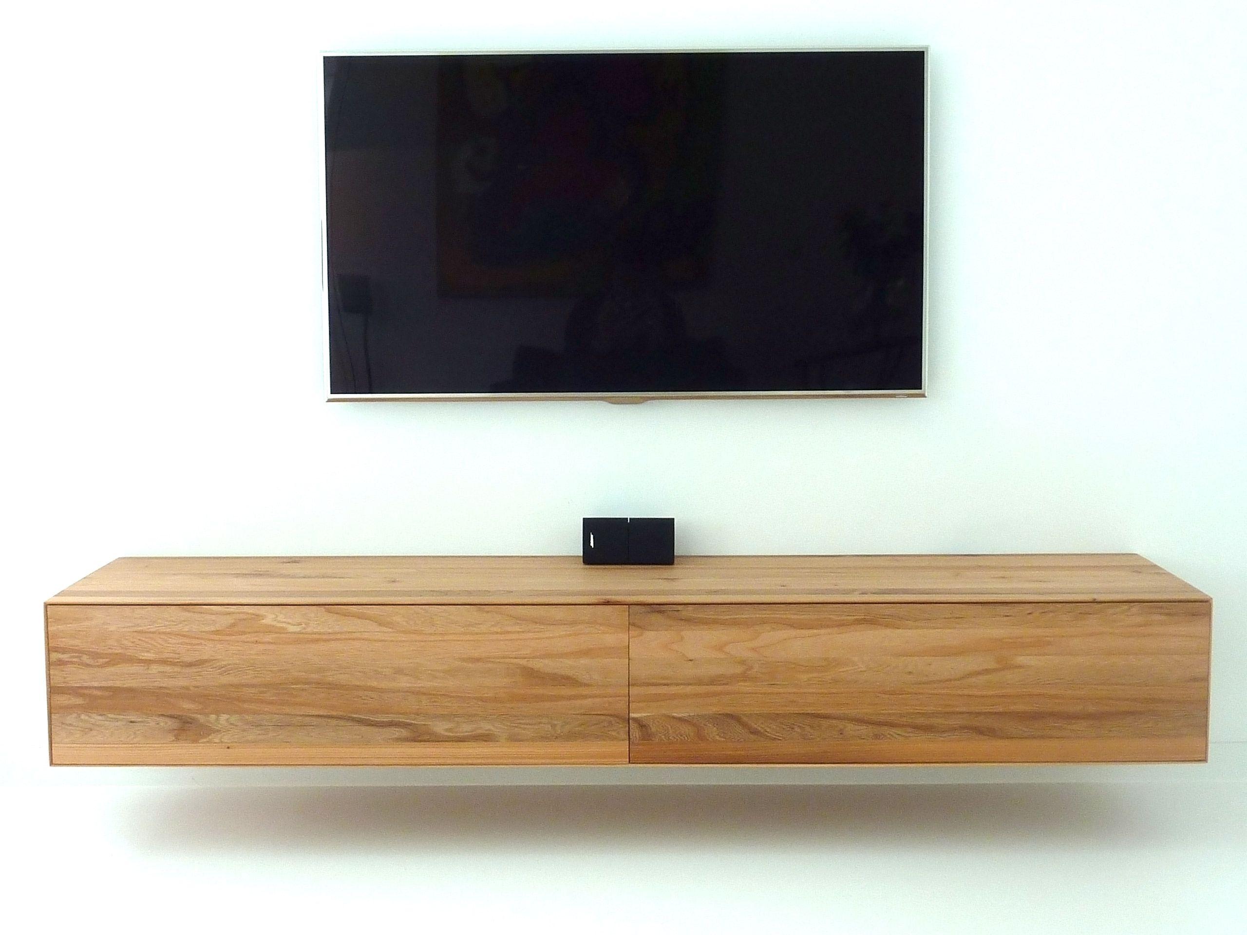 Zwevende Plank Tv Meubel.Zwevend En Houten Handgemaakt Audiomeubel Bert Harmens Tv