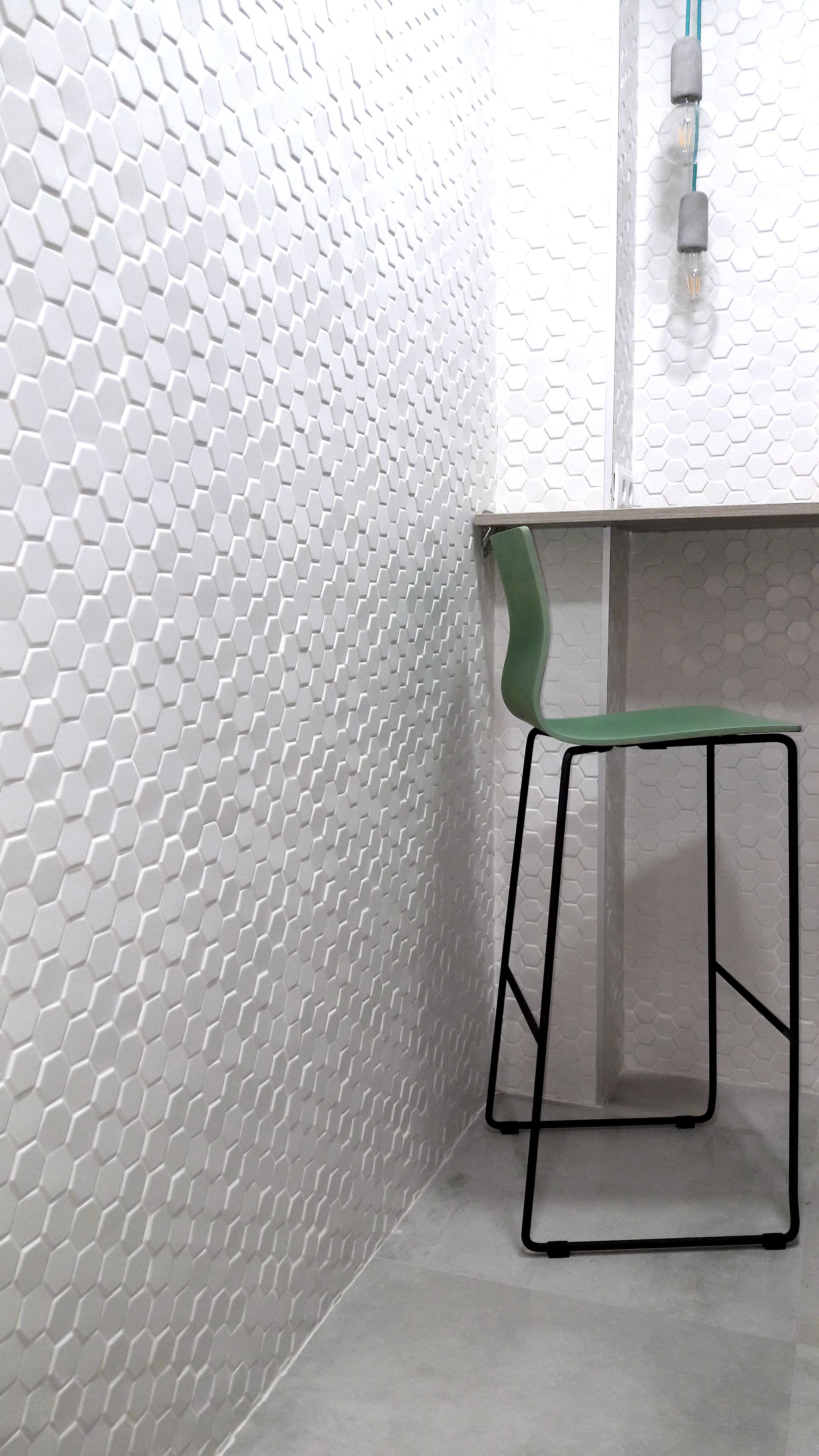 Tiles Madeinondarreta White Green Kitchen Design Porcelanosa