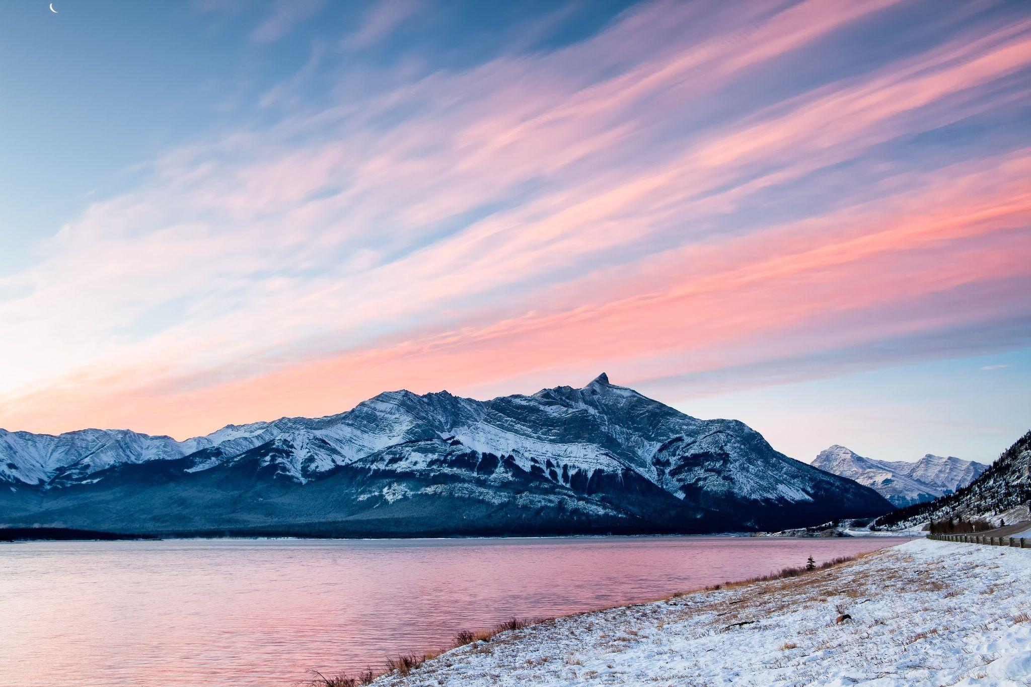 Abraham Lake Morning by David Buhler on 500px