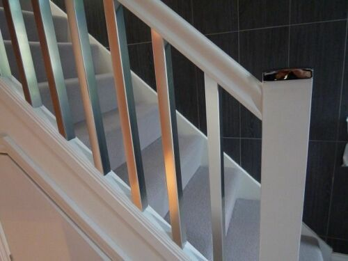 Best Polished Chrome Style Scala Stair Spindles With Images 400 x 300