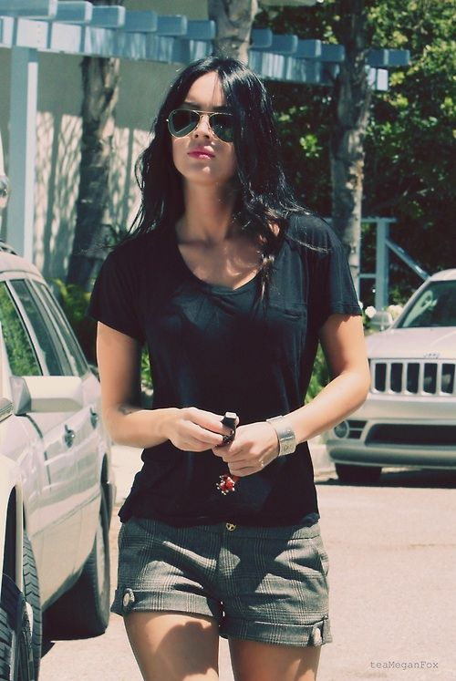 Megan Fox Casual Style Style Pinterest Summer Trousers And Style