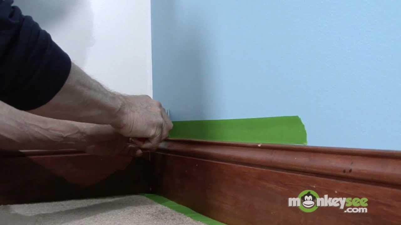 Varnished Trim Painting Tricks 42250248 Interior Wood