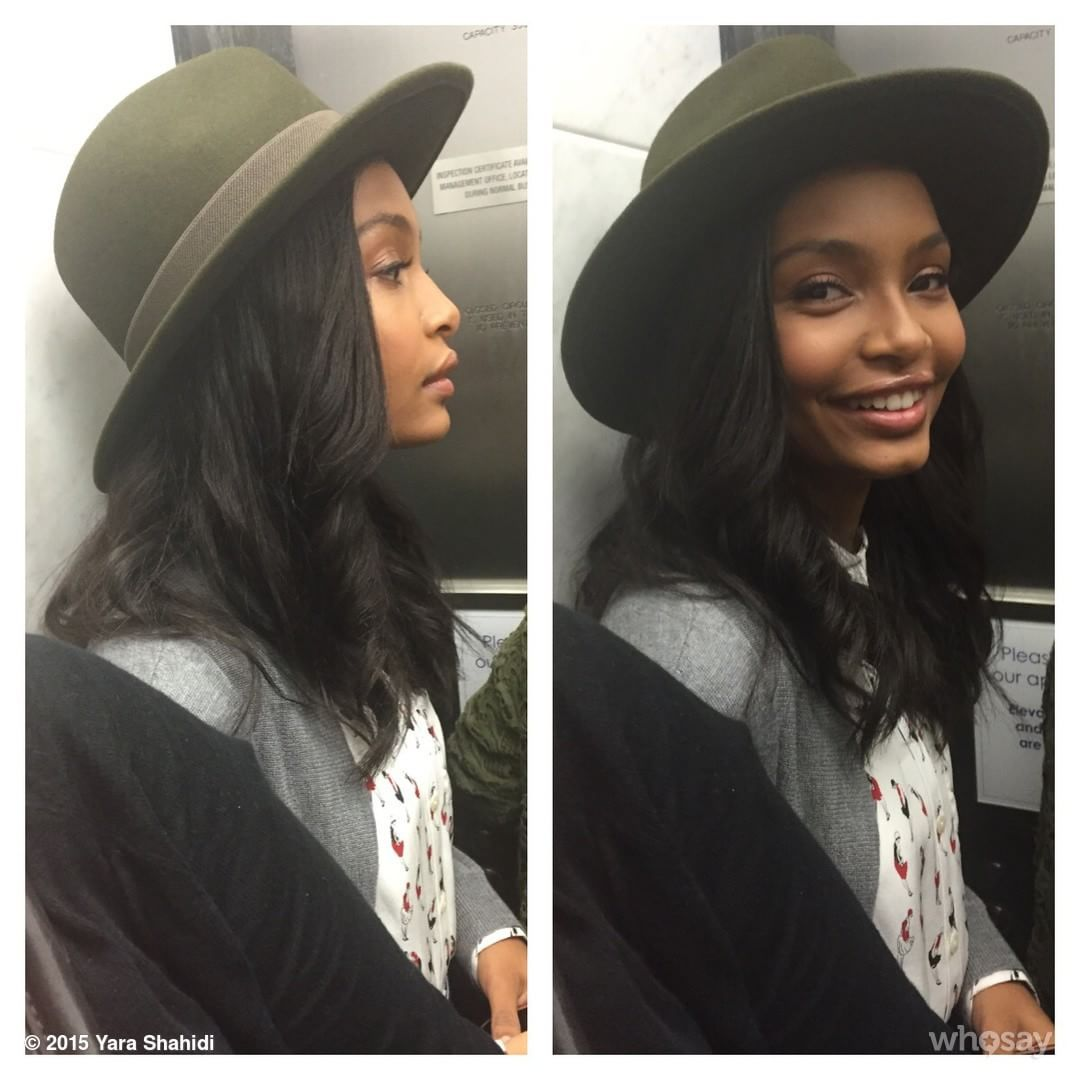 Yara Shahidi Instagram Caught In Elevator #movinonup #blackish Taste Of