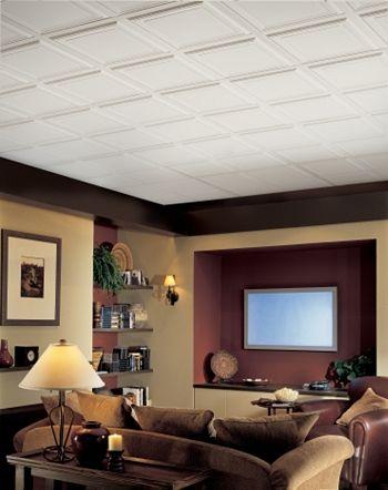 Basement Idea Dropped Ceiling Basement Ceiling Basement Ceiling Ideas Cheap