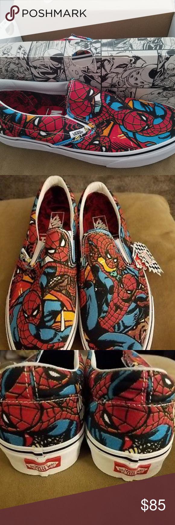 Vans Classic slip on Marvel-Spiderman