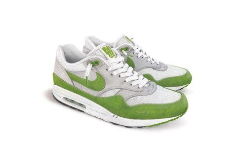 ulttimo/ High quality art print of the Air Max 1 x Patta Chlorophyll This is a copy of a colored pencil drawing. Printed on 300gsm matt art paper. Size A3 (29,7 x 42cm), unframed. Signed by the artist.