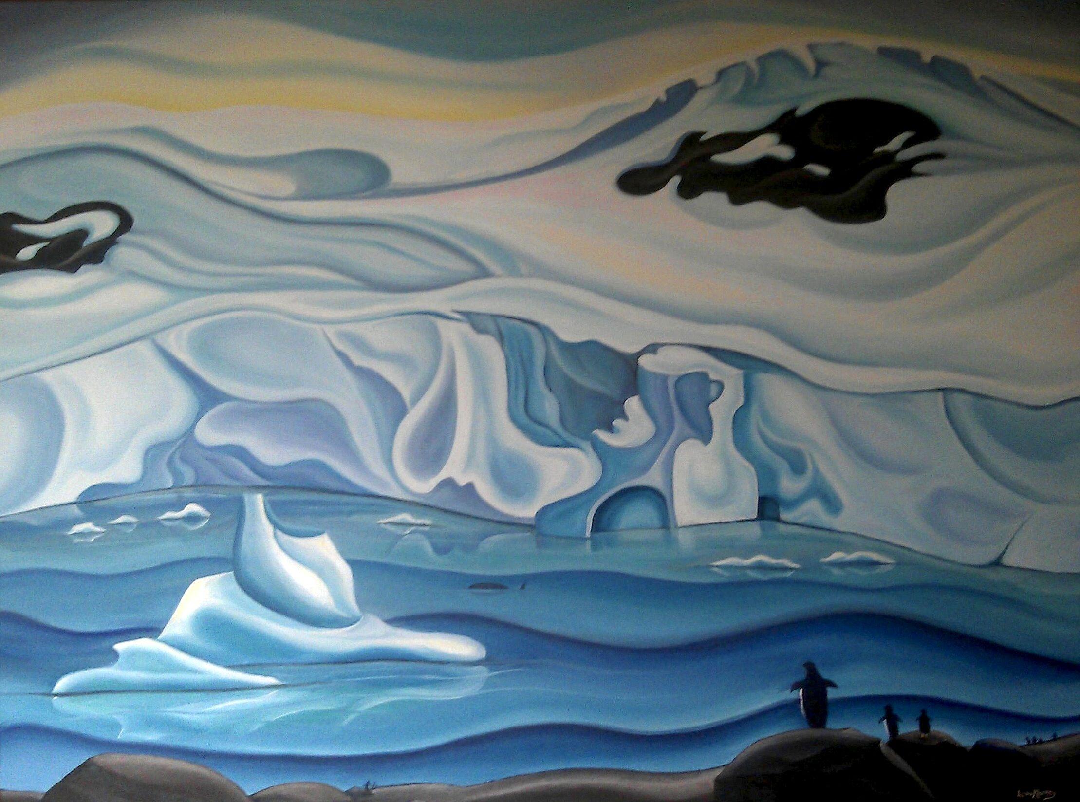 Antarctica Artwork Ideas - Google Kindergarten